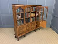 Shapland & Petter Burr Walnut Bookcase (17 of 23)
