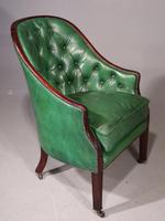 Good & Original George III Period Mahogany Library or Desk Chair (5 of 6)