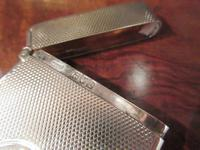 Victorian Silver Engine Turned Card Case (5 of 6)