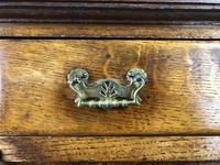 Antique Arts & Crafts Oak Sideboard Cupboard (7 of 11)