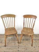 Set of Four Mix & Match Farmhouse Chairs (8 of 9)