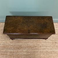 Small Period Oak Six Plank Antique Coffer (2 of 7)