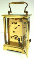 Classic Antique French 8-day Carriage Clock Timepiece c.1890 - L Epee & Camerer Cuss (7 of 10)