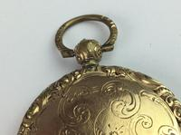 Vintage 9ct '375' Front & Back Hinged Rose & Yellow Gold Locket (4 of 12)