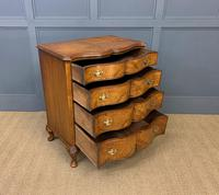 Waring & Gillow Burr Walnut Serpentine Chest of Drawers (5 of 15)