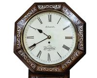 Wonderful 1852 Welsh Drop Dial Fusee Wall Timepiece by Thomas Edwards (2 of 10)