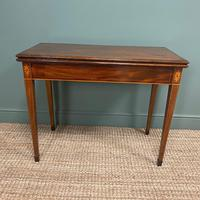 Country House Georgian Mahogany Antique Side / Tea Table (2 of 8)