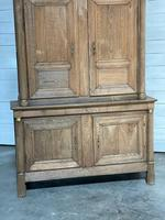 Wonderful French Empire Period Bleached Oak Linen Press (3 of 32)