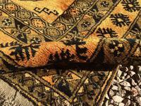 1960's Hand Woven Afgan Bokara Rug (4 of 7)