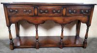 English Oak 18th Century Style Pot Board Dresser Base (4 of 7)
