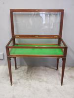 Sheraton Style Inlaid Mahogany Bijouterie Cabinet / Table (4 of 7)