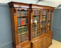William IV Mahogany Breakfront Bookcase (14 of 15)