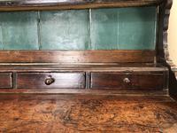 Antique 18th Century Joined Oak Dresser (9 of 10)