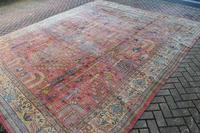 Antique Ushak Carpet 395x328cm (7 of 12)