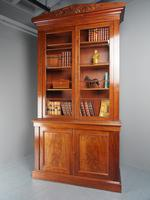 Antique George IV Mahogany 2 Door Cabinet Bookcase (2 of 13)