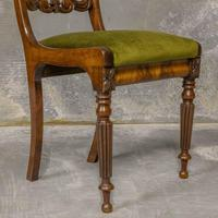 Set of Four William IV Mahogany Dining Chairs (2 of 7)
