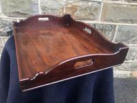 Antique George III Mahogany Butlers Tray (6 of 7)