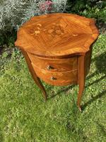 Pair of Kingwood bedside tables (4 of 5)