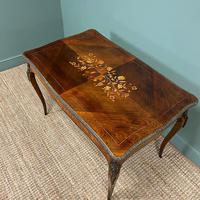 Stunning Large 19th Century Kingwood Antique Writing Table (6 of 8)