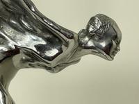Elegant Nubile Rolls Royce Spirit of Ecstasy Wraith Car Mascot Sculpture Charles Sykes (10 of 43)