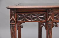 19th Century French Oak Desk in the Gothic Style (12 of 17)