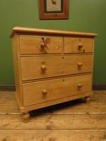 Antique Victorian Pine Chest of Drawers, Adaptable Sink Unit (11 of 15)