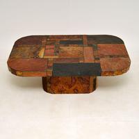 Large Swedish Stone Vintage Coffee Table (2 of 11)