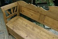 Fabulous Old (Victorian) Hungarian Box/ Storage/ Hall Bench (8 of 11)