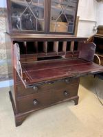 Victorian Mahogany Secrétaire Bookcase (6 of 8)