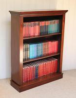 Late 19th Century Mahogany Open Bookcase c.1890 (9 of 11)