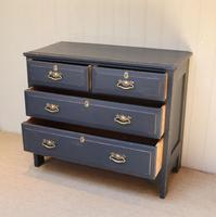 Pitch Pine Painted Chest of Drawers (9 of 11)