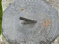 "Roman Style Stone Garden Bronze Floral Sundial ""Sunny Hour"" (11 of 30)"