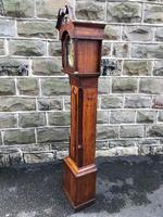 Early Antique Weight Driven Granddaughter Clock (5 of 13)