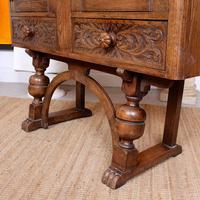 Carved Oak Sideboard Cupboard (5 of 13)