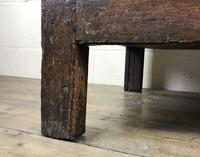 Antique 18th Century Oak Coffer (6 of 16)