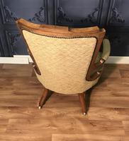 Quality Victorian Walnut Armchair (13 of 14)