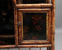 Impressive 19th Century Bamboo Cabinet (16 of 18)