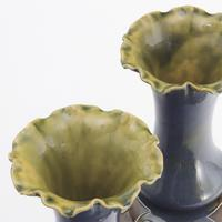 Pair of Tall Doulton Lambeth Art Nouveau Baluster Vases by Eliza Simmance c.1895 (12 of 12)