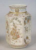 Good Pair of 19th Century Japanese Satsuma Vases (9 of 11)