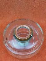 Antique Cut 12 Faceted Glass Oil Lamp Font / Fount Hicks & Sons Bayonet Collar (12 of 12)