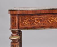 19th Century Inlaid Mahogany Dressing Table (12 of 13)