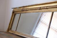 Gilt Framed Three Section Overmantle Mirror (11 of 19)
