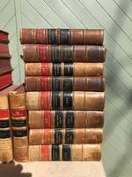 30 Antique Leather Bound Law Books 1919-1947 (4 of 6)