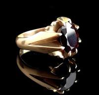 Vintage Garnet Dress Ring, 9ct Gold (5 of 16)