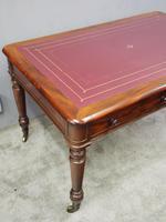 Victorian Mahogany Partners Writing Table (8 of 11)