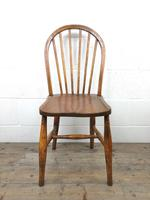 Pair of Antique Hoop Back Farmhouse Chairs (7 of 13)