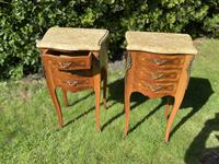 Pair of French Marquetry Bedside Tables (3 of 8)