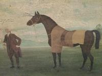Oil on Canvas, Race Horse (2 of 4)