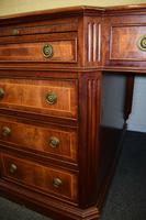 Huge Antique Design Mahogany Partners Desk (5 of 12)