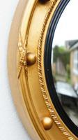 Art Deco Regency Style, Convex, Porthole  Mirror (11 of 13)